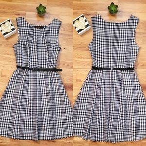 🆕️The Limited Black/White Checkered Gingham Dress